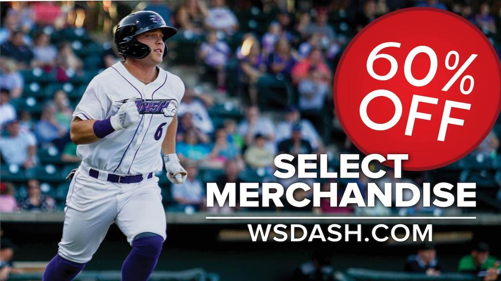 Select Dash merchandise for 60% off!