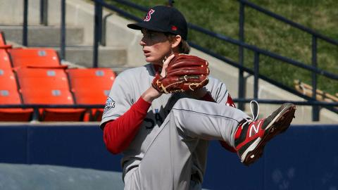 Henry Owens ranks second in the Carolina League with 62 strikeouts.