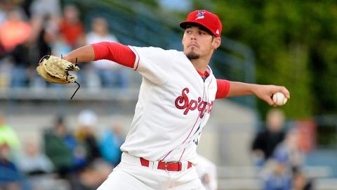 Possessing a 95 mph fastball with an exceptionally high spin rate, Cole Ragans has 96 strikeouts over 65 innings as a pro.