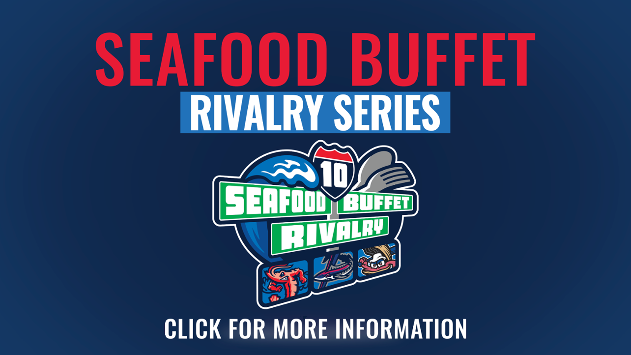 Jumbo Shrimp, Shuckers, Blue Wahoos to begin Seafood Buffet Rivalry Series in 2019