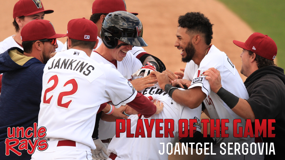 Segovia Drives in Game-Winner in Tenth   Wisconsin Timber Rattlers News