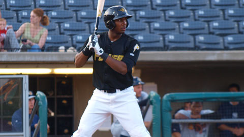 Josh Bell plated four of West Virginia's runs in a 6-3 win over Hagerstown on Friday.