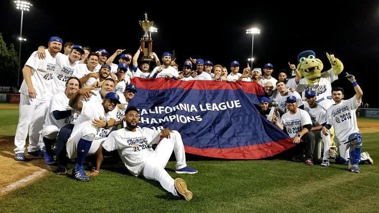 Quakes sweep, return to the top in California League