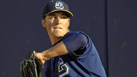 Alaska native Dylan Baker has a 3.09 ERA in six games, including five starts.