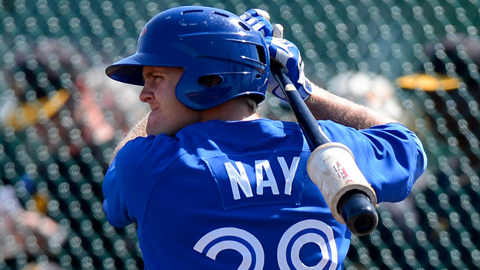 Mitch Nay has four RBIs in four playoff games for Vancouver.
