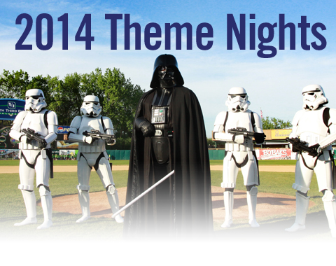 The Cougars will celebrate Star Wars with two special theme nights: May 2 and August 30.