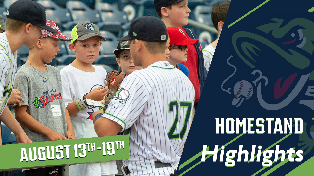 b28309052939d Gwinnett Stripers Homestand Highlights  August 13-19