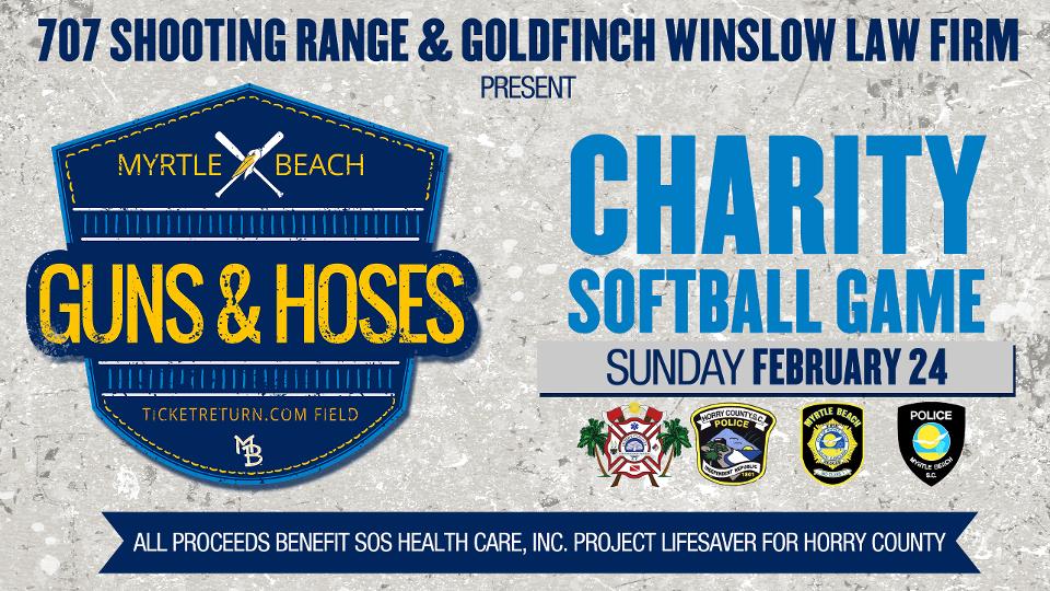 Guns Hoses Charity Softball Game Set For February 24 Myrtle