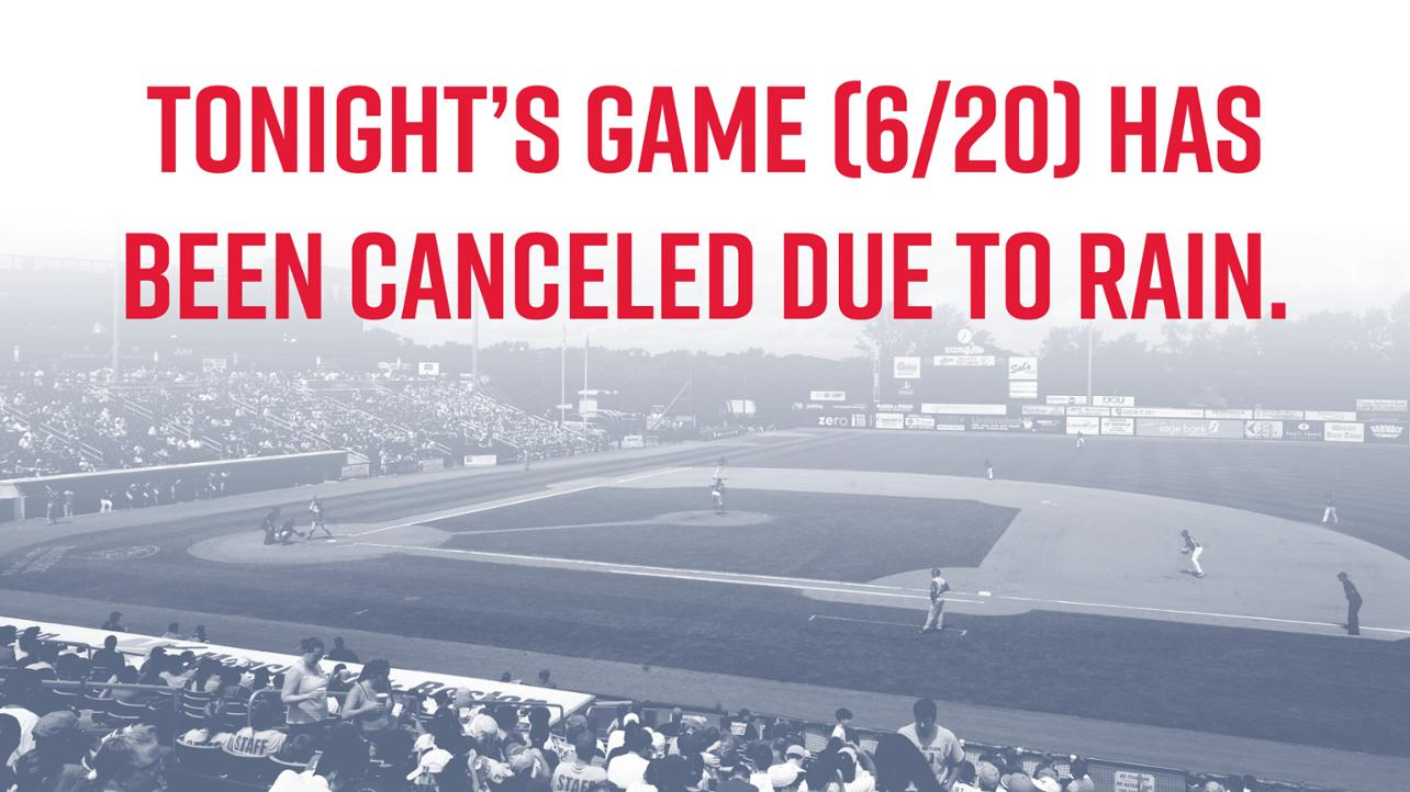 Tickets to tonight's game can be exchanged at the box office for any Lowell Spinners home game
