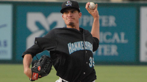 Andrew Heaney is 1-1 with a 1.07 ERA in six appearances for Jupiter.