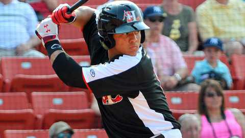 Jorge Alfaro hit 16 homers and 22 doubles over 104 Class A games.