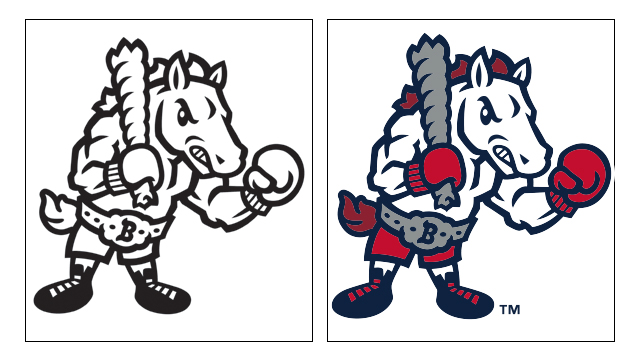 Coloring Pages Binghamton Rumble Ponies Content