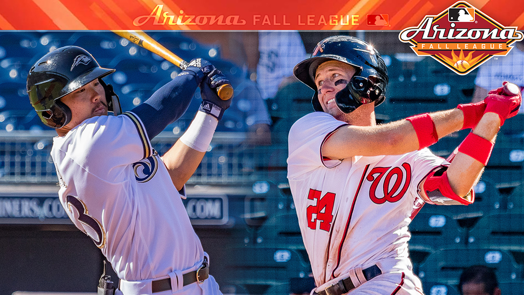 Brewers' Hiura, Nats' Kieboom square off for Arizona Fall League title