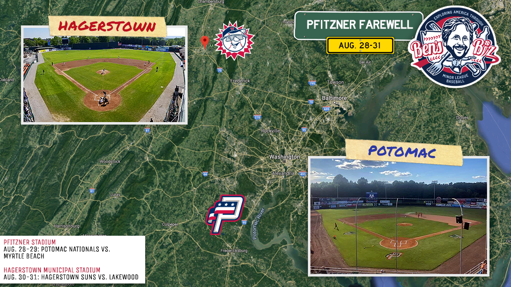 On the Road: Potomac and Hagerstown