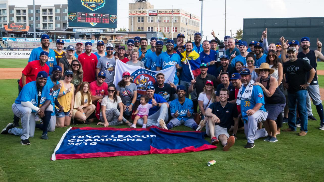 Sod Poodles Named 2019 Texas League Organization of the Year