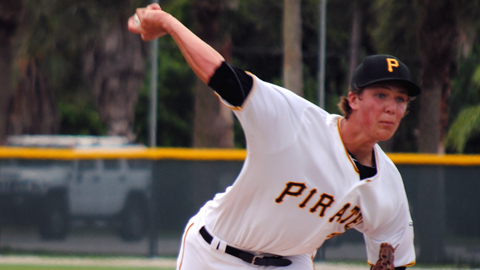 Tyler Glasnow was a fifth-round draftee in 2011 and made his pro debut this year.