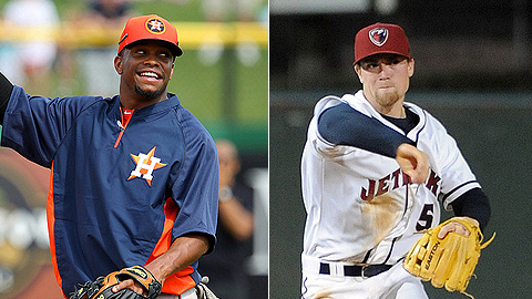 Delino DeShields and Nolan Fontana are two of Houston's top prospects.