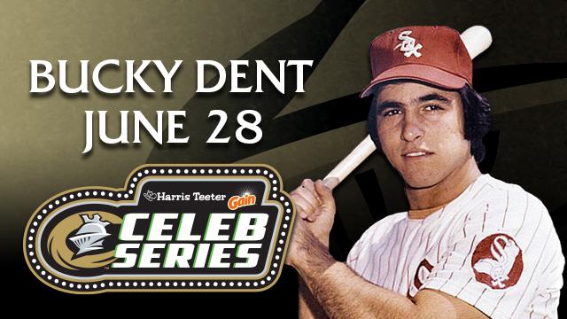 Bucky Dent to Meet Fans & Sign Autographs at BB&T Ballpark on June