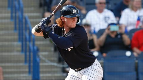 Clint Frazier is hitting .323 with seven RBIs for the Yankees this spring.