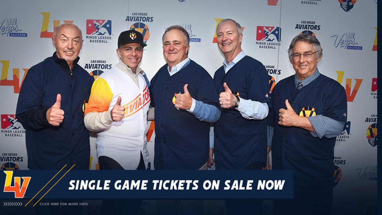 Aviators Individual Game Tickets on Sale - Tuesday, March 5