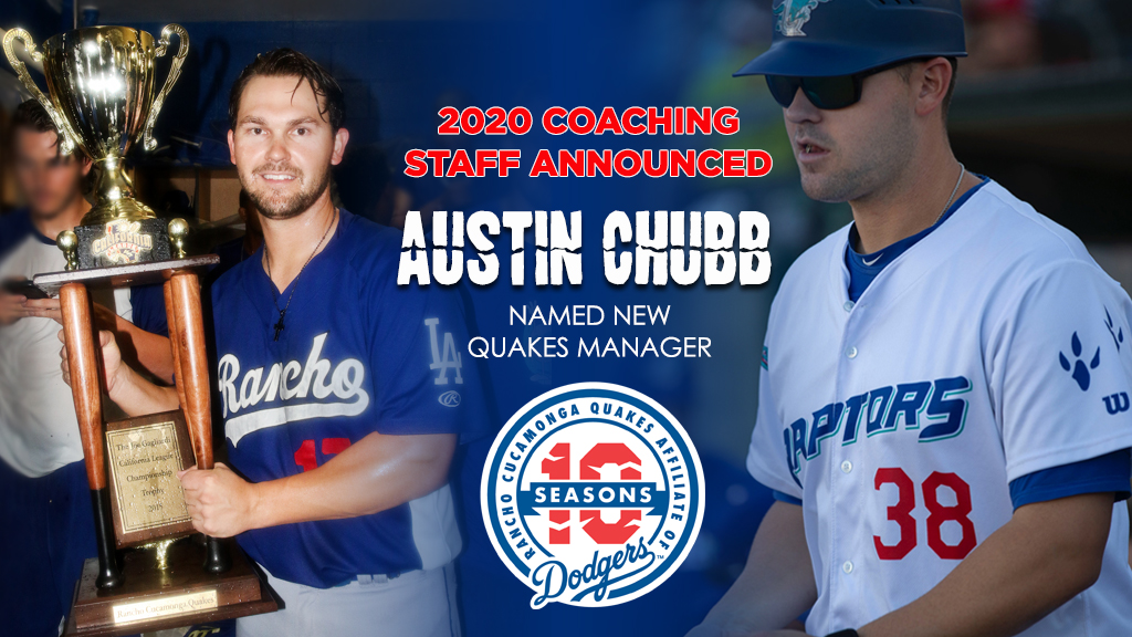 Chubb back in Rancho, Will Lead Quakes in 2020!