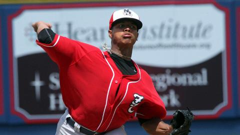 Marcus Stroman was 9-5 in 20 starts for Double-A New Hampshire.