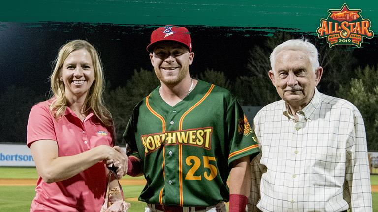 Crim earns NWL Top Star honor at All-Star Game