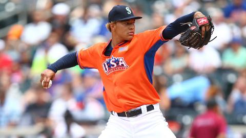 Taijuan Walker allowed six earned runs in three big league starts last season.