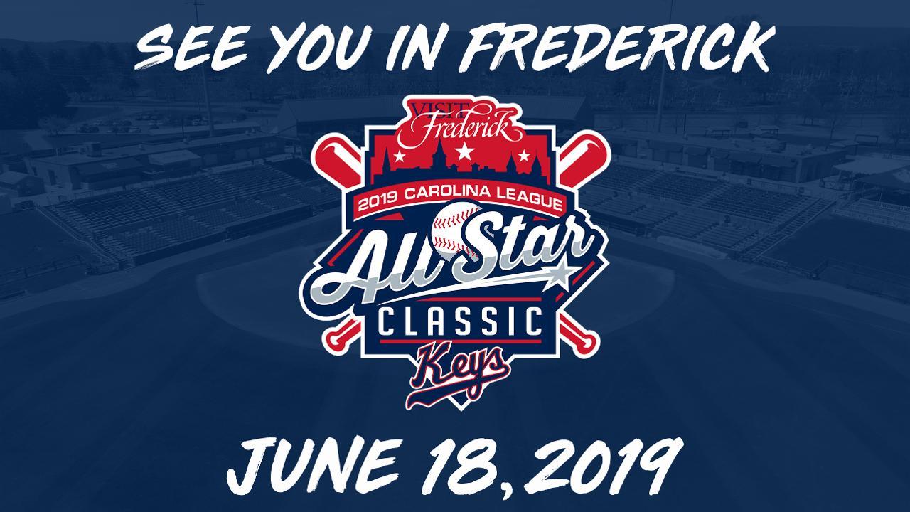 Keys to Host 2019 Carolina League All-Star Classic  1221cb7e621