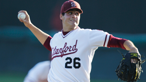 Mark Appel went 28-13 with 369 strikeouts over four season with the Cardinal.