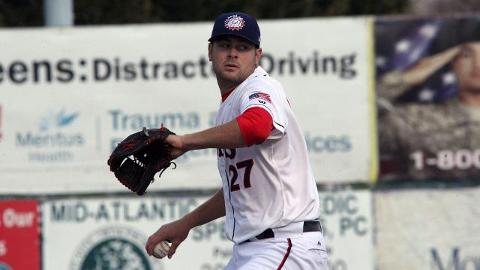 Lucas Giolito has won his past five South Atlantic League decisions, dating back to June 26.