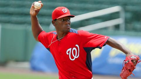 Wander Suero led the GCL with a 1.65 ERA over 13 appearances.