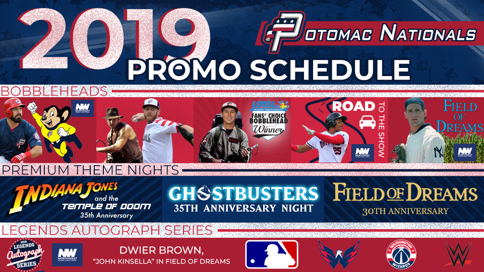 photo about Washington Nationals Printable Schedule titled Potomac Nationals Make clear 2019 Advertising Program Potomac