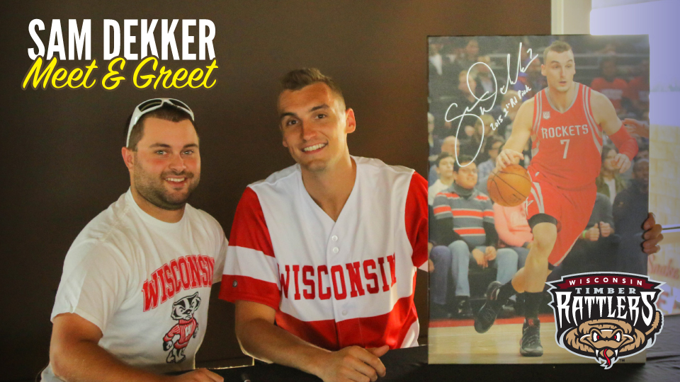 separation shoes 249a7 5140f Tickets for Sam Dekker Meet & Greet Available for Strike Out ...