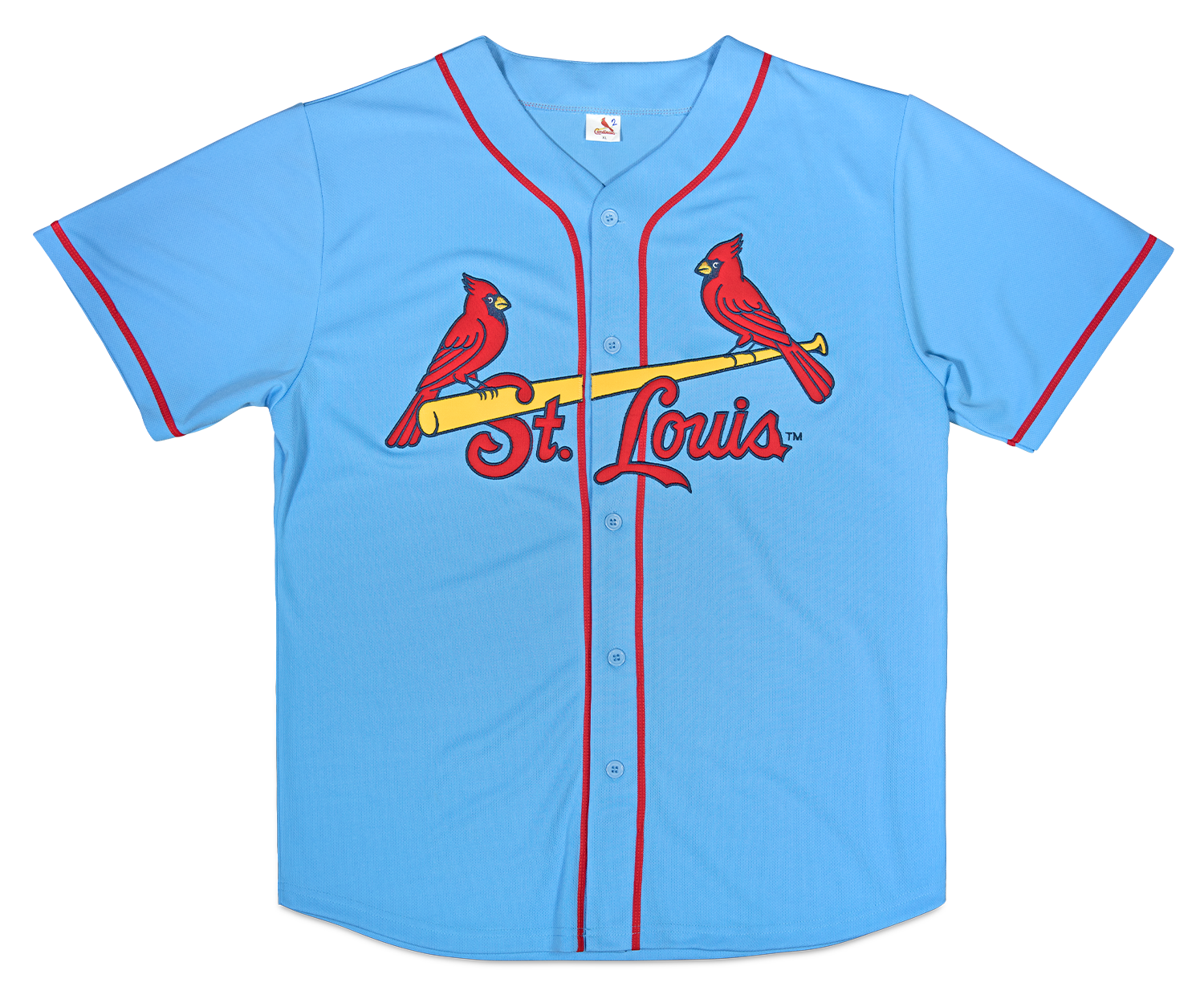 4d9ef8996 ... very own St. Louis Cardinals baby blue jersey worn by the Cardinals  this season during Saturday road games. This giveaway is a Busch Stadium  Exclusive.