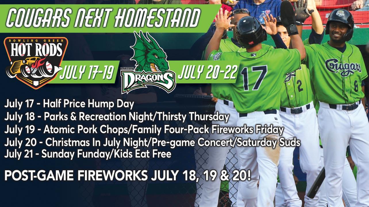 July 17-22 Homestand