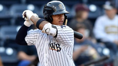 Gleyber Torres batted .287/.383/.480 in an injury-shortened 2017, his first full year in the Yankees system.