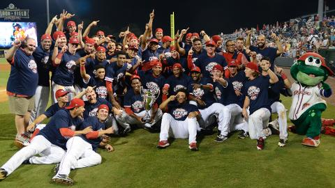 The Greenville Drive hadn't reached the South Atlantic League Championship Series since the 2010 season.