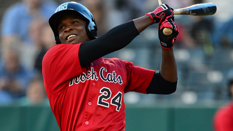 Miguel Sano ranks fourth in the Minor Leagues with 22 home runs.