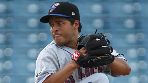 Angel Cuan is 3-0 with a 1.67 ERA in five starts since April 19.