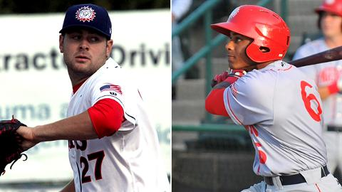Lucas Giolito and Wilmer Difo both had summers to remember during their first full seasons in the Nationals farm system.