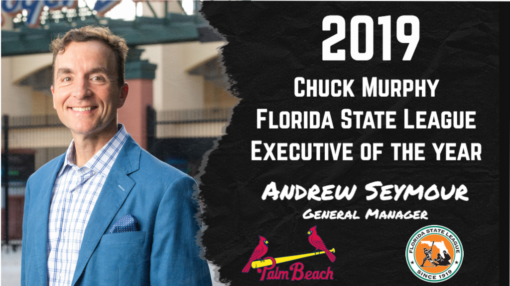 Cardinals' Andrew Seymour named Chuck Murphy Executive of the Year