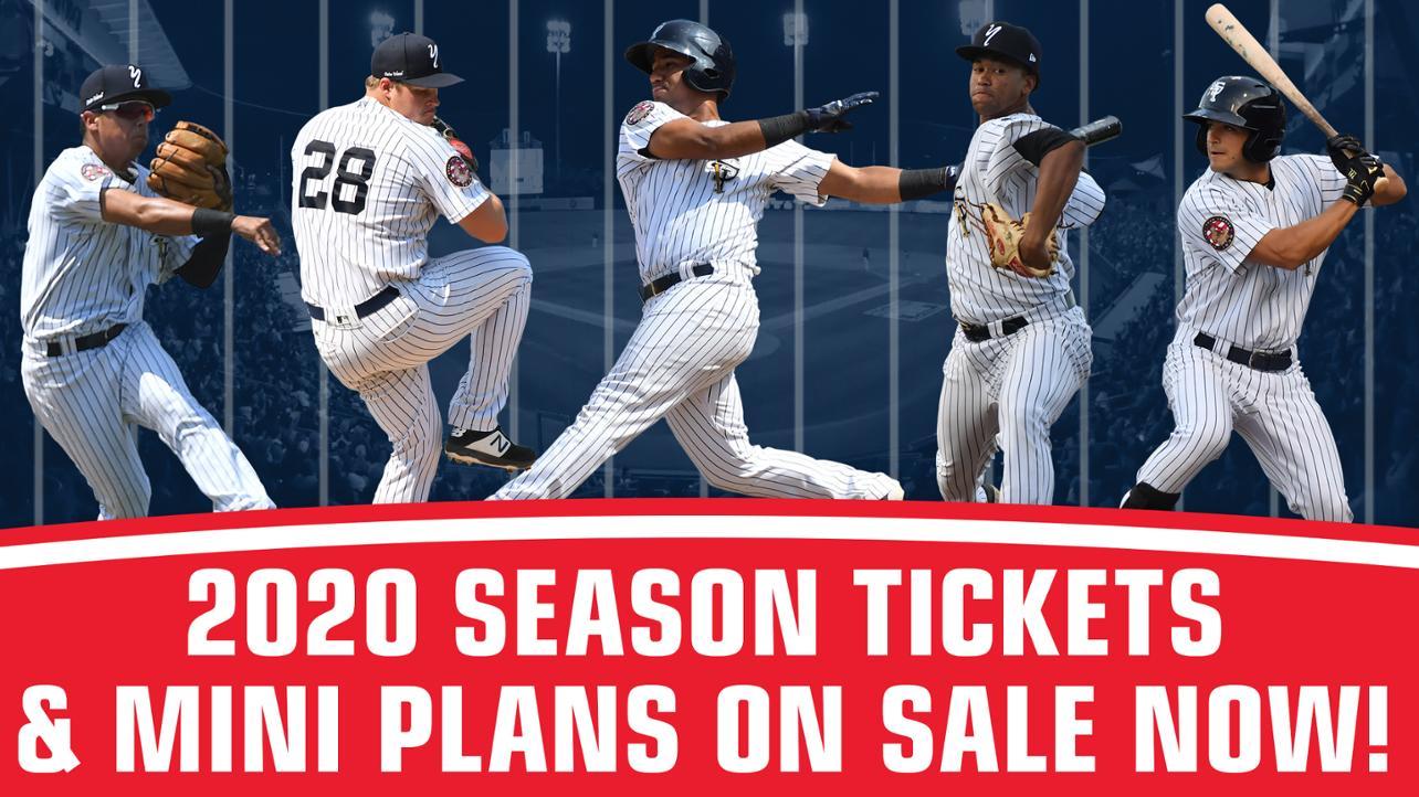 2020 Season Tix & Mini Plans now on sale