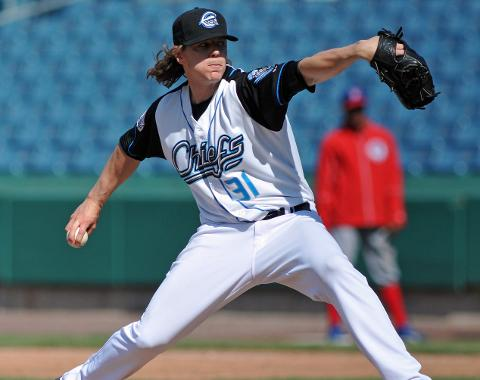 Jeff Mandel tossed four and one-third shutout innings on Wednesday.