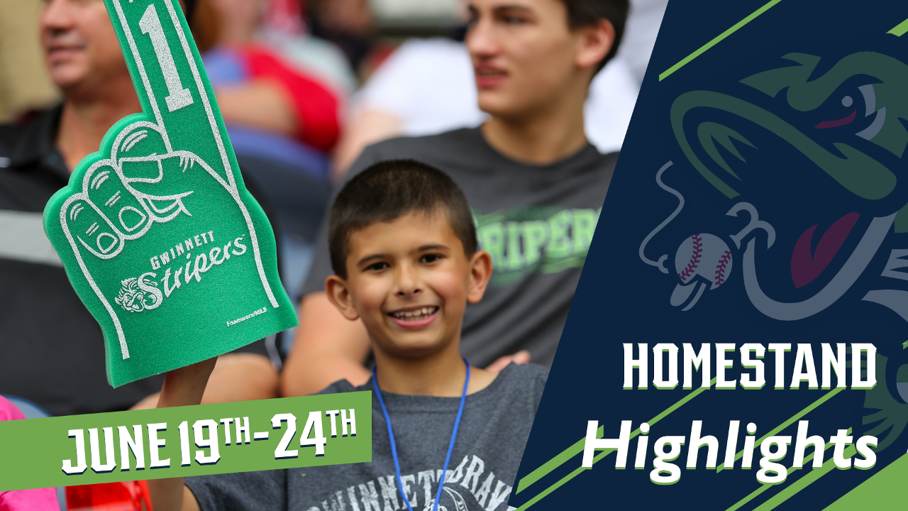 d629c837f7a65 Stripers Homestand Highlights  June 19-24