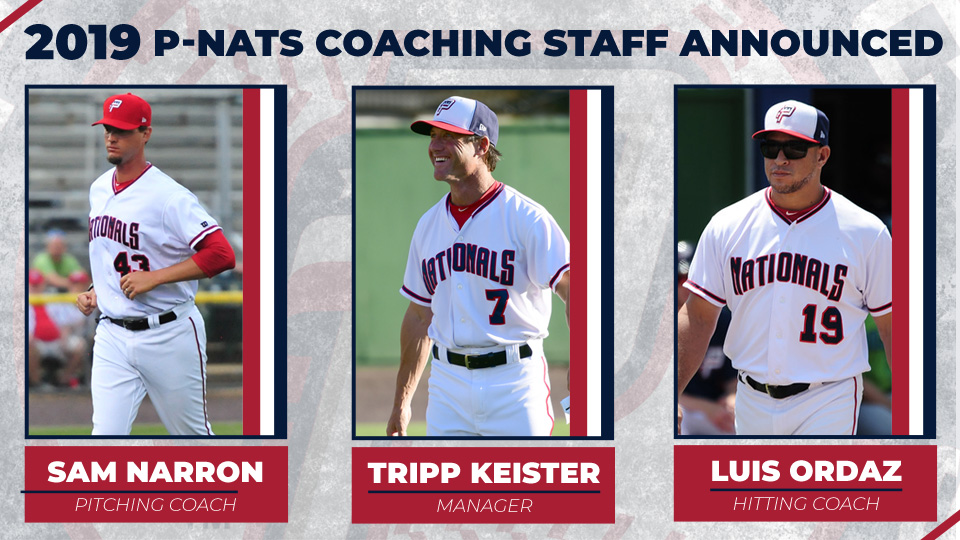 2019 Potomac Nationals Field Staff Announced Potomac Nationals News