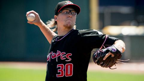 Jeff Hoffman ranked second in the Pacific Coast League with 124 strikeouts last season.