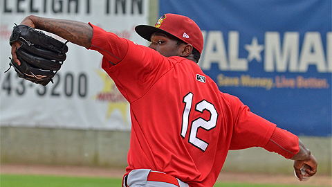 Tyrell Jenkins had not pitched past the sixth inning in 36 starts as a pro.