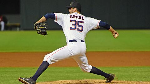 Mark Appel struck out 38 batters across 39 innings at Double-A Corpus Christi.