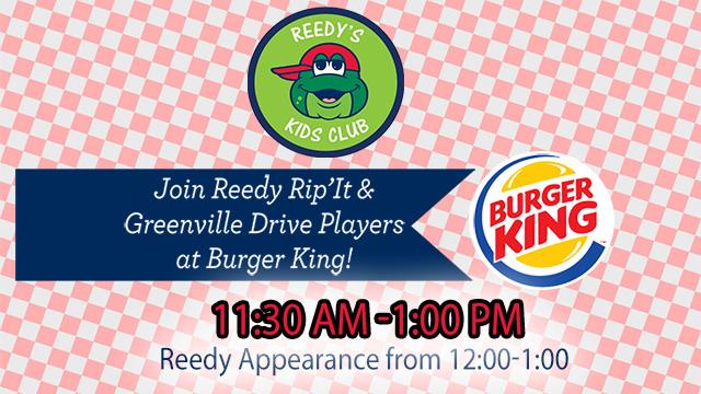 Join the Drive at Burger King All Season Long | Greenville